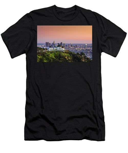 Beauty On The Hill Men's T-Shirt (Athletic Fit)