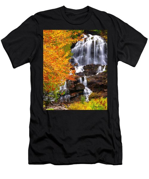 Beaver Brook Falls Men's T-Shirt (Athletic Fit)