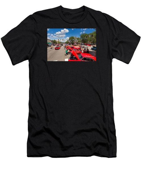 Beaver Car Show  Men's T-Shirt (Athletic Fit)