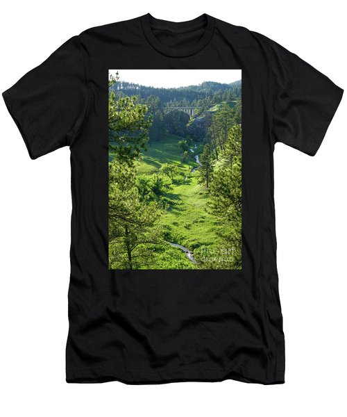 Beaver Creek In The Spring Men's T-Shirt (Athletic Fit)