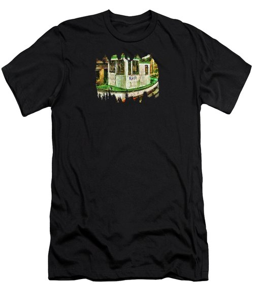 Men's T-Shirt (Slim Fit) featuring the photograph Beaver The Old Fishing Boat by Thom Zehrfeld