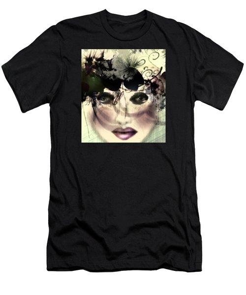 Becca Men's T-Shirt (Slim Fit) by Katy Breen