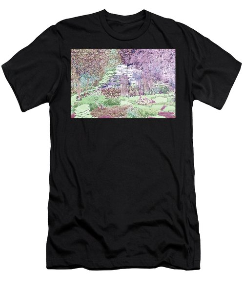 Beckie's Magic Garden Men's T-Shirt (Athletic Fit)