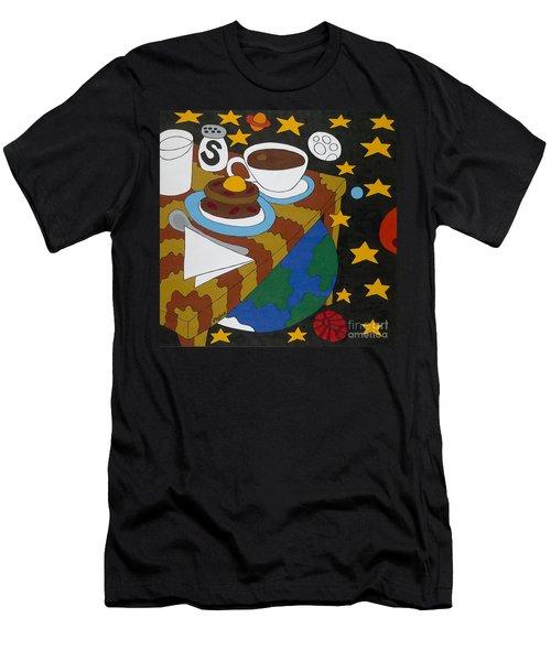 Bed And Breakfast Men's T-Shirt (Slim Fit) by Rojax Art