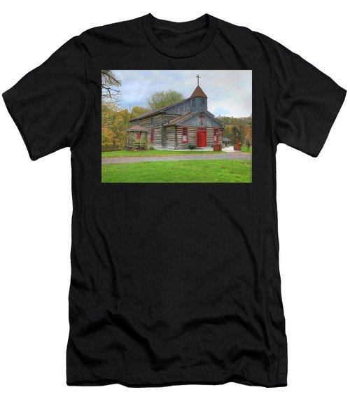 Bedford Village Church Men's T-Shirt (Athletic Fit)