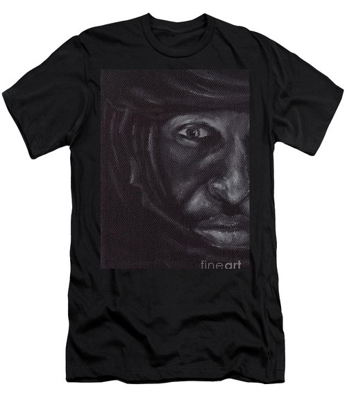 Men's T-Shirt (Slim Fit) featuring the painting Bedouin by Annemeet Hasidi- van der Leij