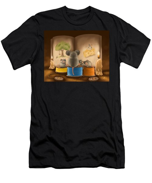 Bedtime Story Men's T-Shirt (Athletic Fit)
