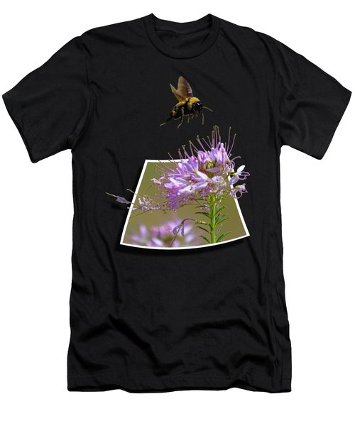 Bee Free Men's T-Shirt (Athletic Fit)