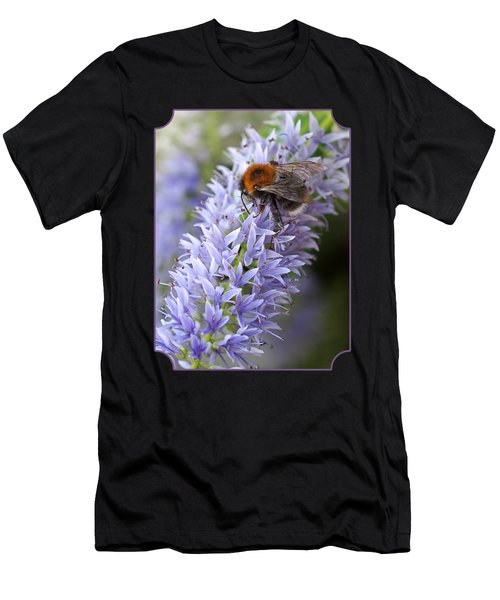 Bee Happy 2 Men's T-Shirt (Athletic Fit)