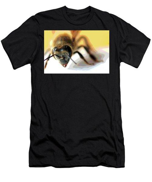 Bee In Macro 5 Men's T-Shirt (Athletic Fit)