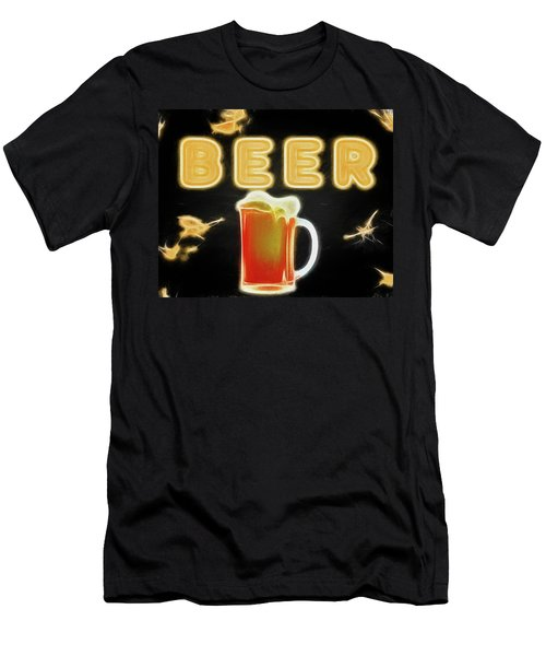 Beer Canvas Sign Men's T-Shirt (Athletic Fit)