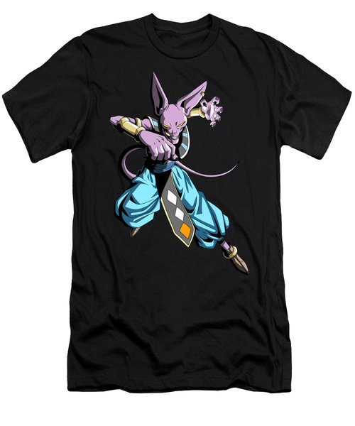 Beerus Men's T-Shirt (Athletic Fit)
