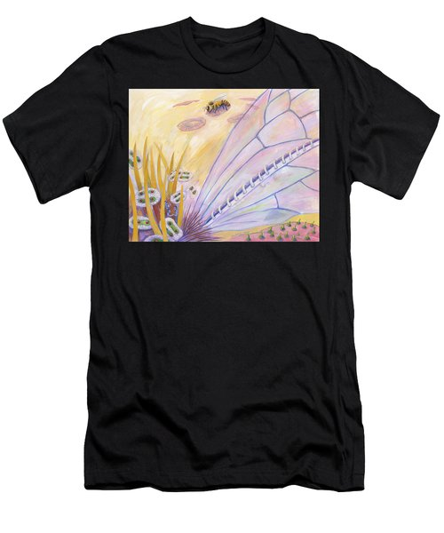 Bee's Wings Men's T-Shirt (Athletic Fit)