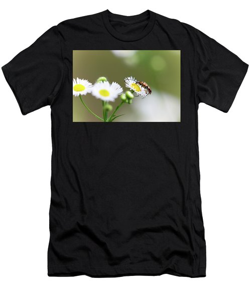 Men's T-Shirt (Athletic Fit) featuring the photograph Beetle Daisy by Brian Hale