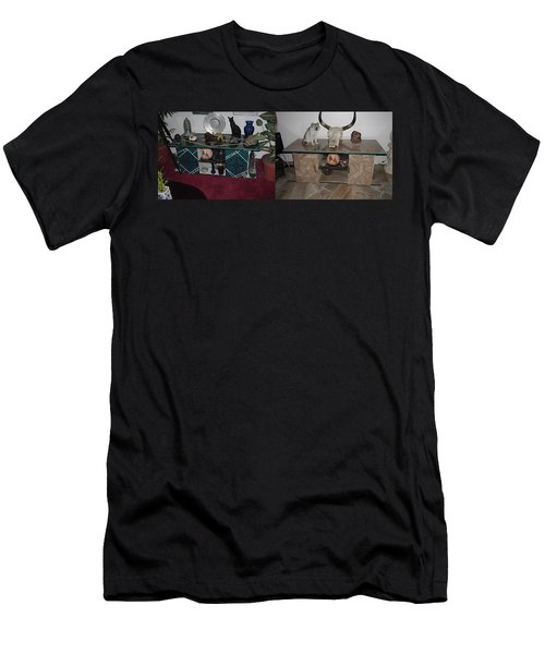 Before And After Men's T-Shirt (Athletic Fit)