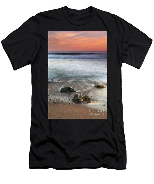 Before Sunset At Shell Beach Men's T-Shirt (Athletic Fit)