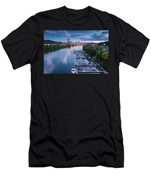 Before Sunset  Men's T-Shirt (Athletic Fit)