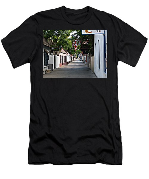 Before The Tourists 2 Men's T-Shirt (Athletic Fit)