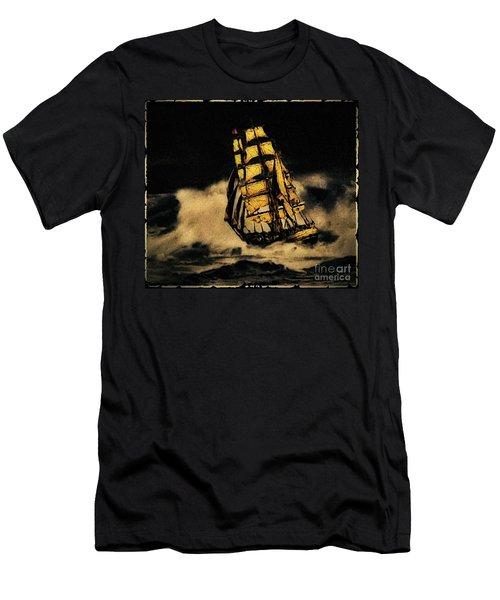 Before The Wind Men's T-Shirt (Slim Fit) by Blair Stuart
