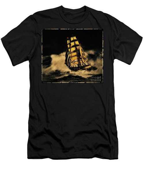 Before The Wind Men's T-Shirt (Athletic Fit)