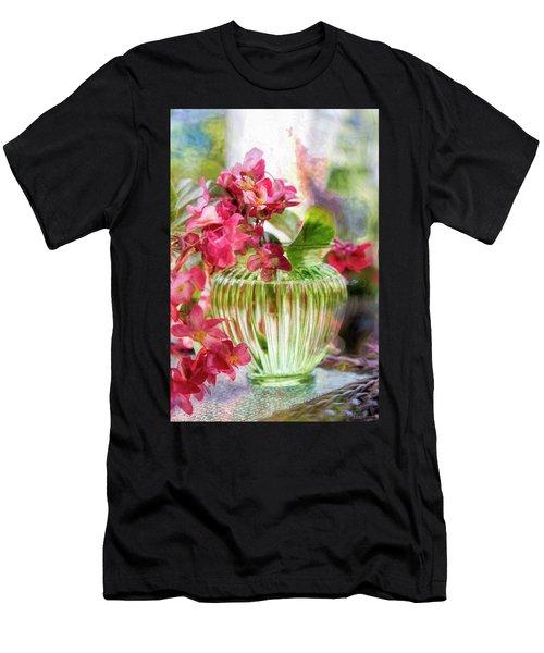 Begonia Art Men's T-Shirt (Athletic Fit)