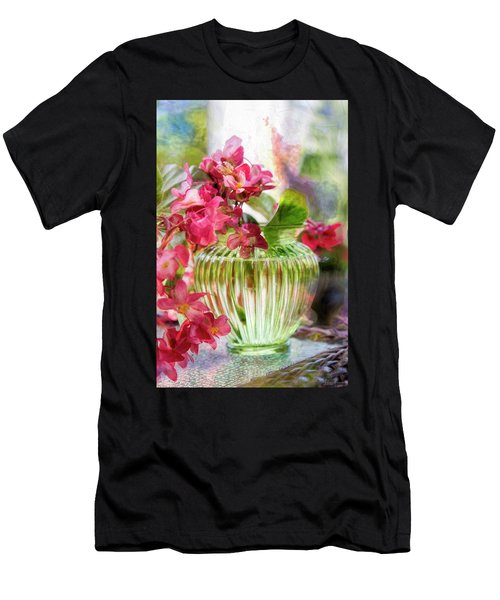 Begonia Art Men's T-Shirt (Athletic Fit)