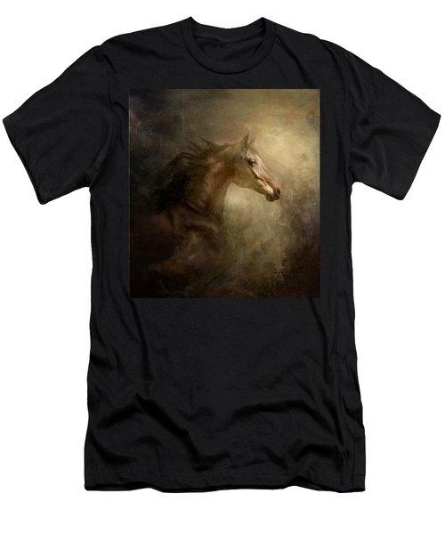 Behind Broken Mirror Men's T-Shirt (Athletic Fit)