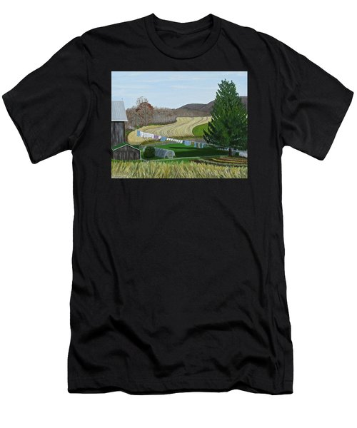 Beiler's View Of Egg Hill Men's T-Shirt (Athletic Fit)