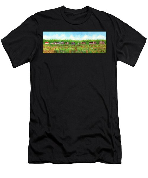 Belford's Nj Skyline Men's T-Shirt (Athletic Fit)