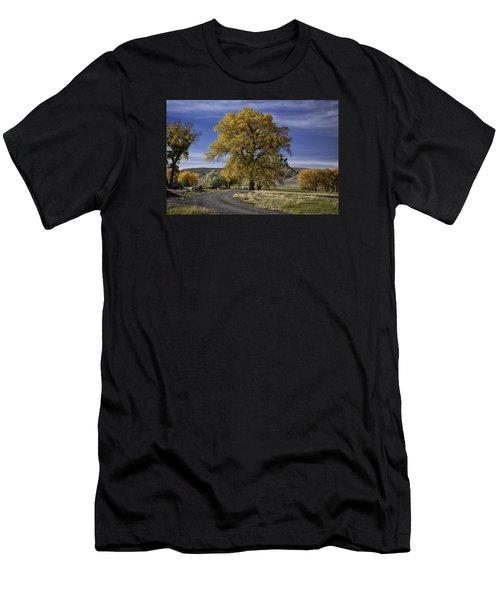 Belfry Fall Landscape 5 Men's T-Shirt (Athletic Fit)