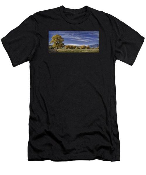 Belfry Fall Landscape 6 Men's T-Shirt (Athletic Fit)