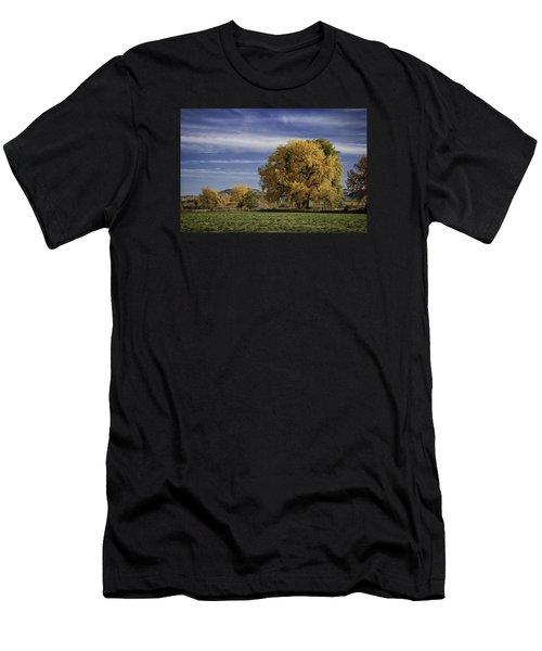 Belfry Fall Landscape 7 Men's T-Shirt (Athletic Fit)