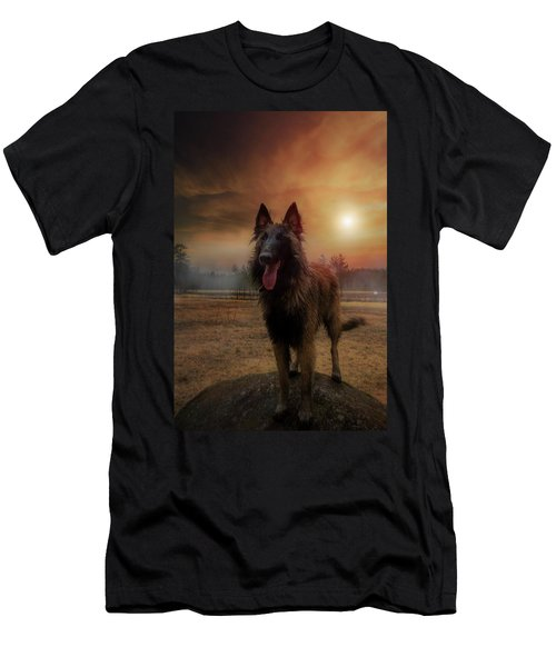 Belgian Shepherd Men's T-Shirt (Athletic Fit)