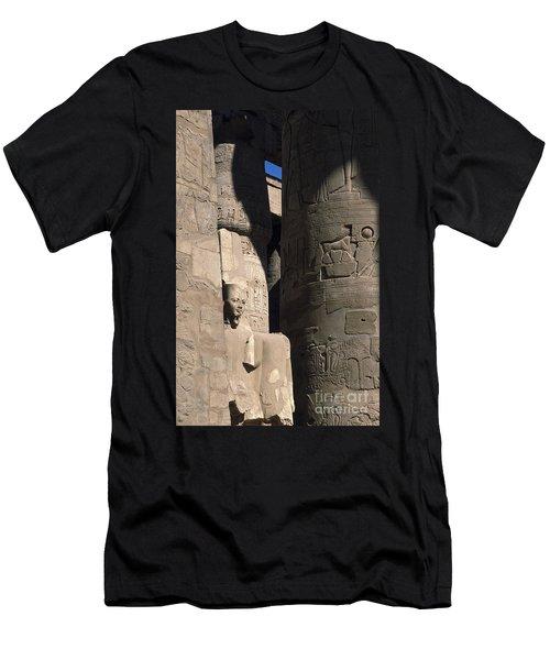 Belief In The Hereafter - Luxor Karnak Temple Men's T-Shirt (Athletic Fit)