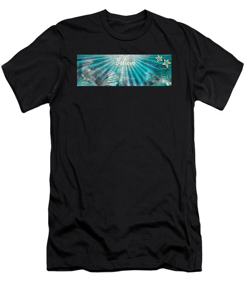 Believe By Sherri Of Palm Springs Men's T-Shirt (Athletic Fit)