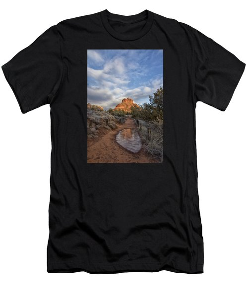Bell Rock Beckons Men's T-Shirt (Athletic Fit)