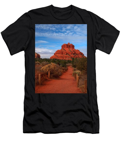 Men's T-Shirt (Athletic Fit) featuring the photograph Bell Rock by James Peterson