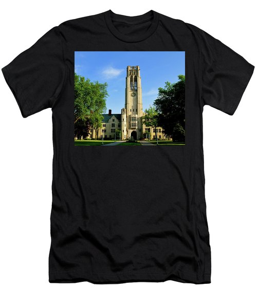 Bell Tower At The University Of Toledo Men's T-Shirt (Athletic Fit)