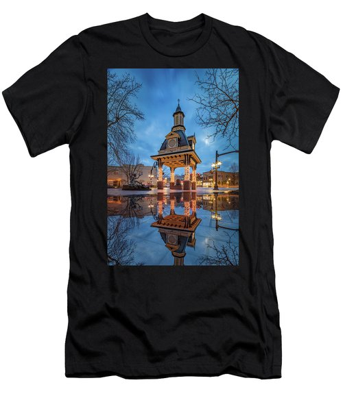 Bell Tower  In Beaver  Men's T-Shirt (Athletic Fit)