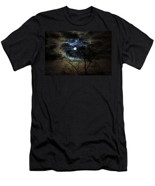Bella Luna Men's T-Shirt (Slim Fit) by Suzanne Stout