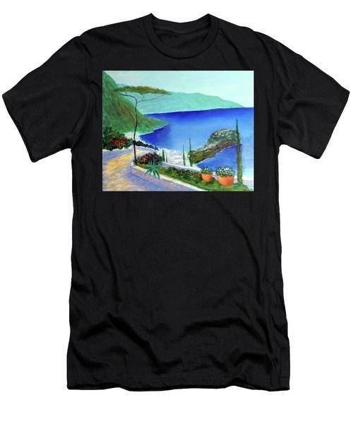Bella Monaco  Men's T-Shirt (Athletic Fit)