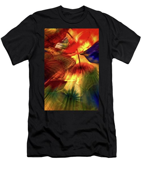 Bellagio Ceiling Sculpture Abstract Men's T-Shirt (Athletic Fit)