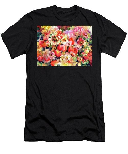 Belle Fleurs II Men's T-Shirt (Athletic Fit)