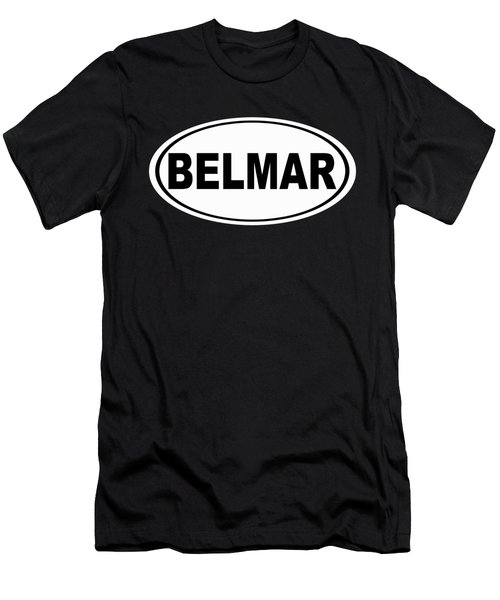 Belmar New Jersey Home Pride Men's T-Shirt (Athletic Fit)