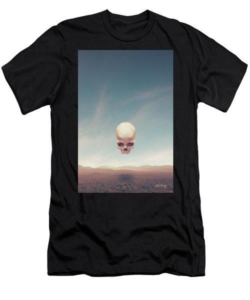 Men's T-Shirt (Athletic Fit) featuring the digital art Below by Joseph Westrupp