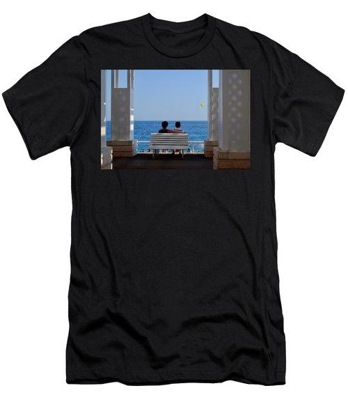 Below Sea Level Men's T-Shirt (Athletic Fit)