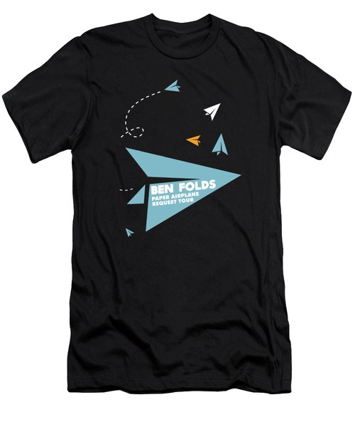 Ben Folds Paper Airplane Request 2017 Men's T-Shirt (Athletic Fit)