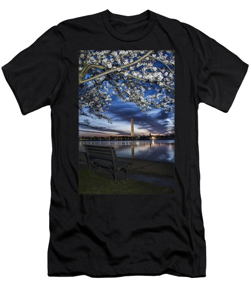 Bench With A View Men's T-Shirt (Athletic Fit)