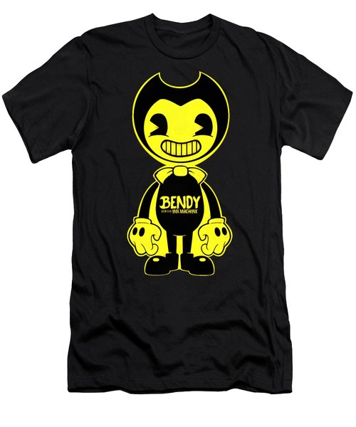 Bendy And The Ink Machine Men's T-Shirt (Athletic Fit)