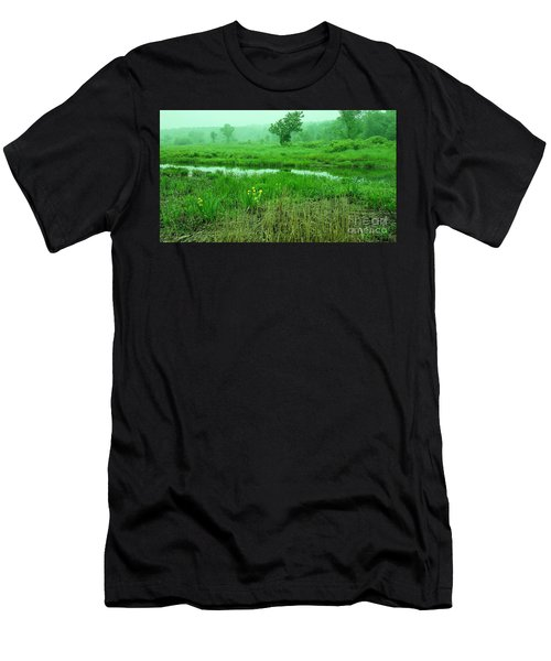 Beneath The Clouds Men's T-Shirt (Athletic Fit)